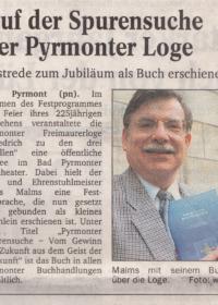 Spurensuche 2001