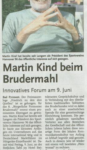 Martin Kind Hallo Sonntag