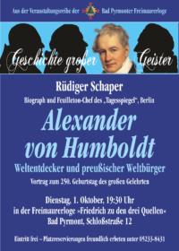 Plakat A3 Humbold